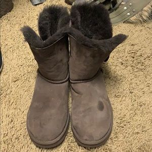 Women UGG brown boots size 8